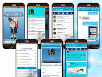 BBM Mod Blue & Shadows Base Official 3.1.0.13 Apk