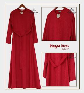 Gamis Jasmine Mayra Dress 27