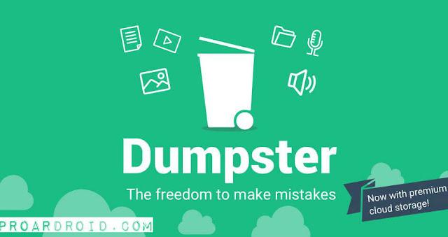 تطبيق Dumpster Photo & Video Restore Premium