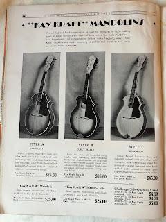 Kay Kraft mandolins