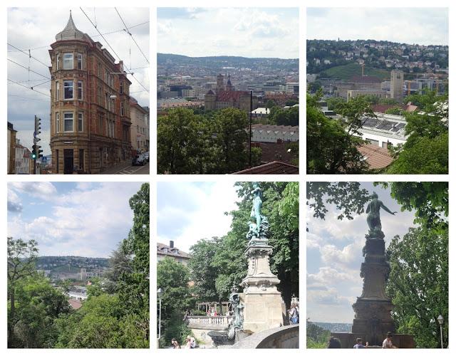 Mirantes e vistas panorâmicas de Stuttgart - Eugensplatz
