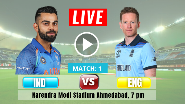 IND vs ENG: 1ST T20 match, England tour of India 2021, India is batting first