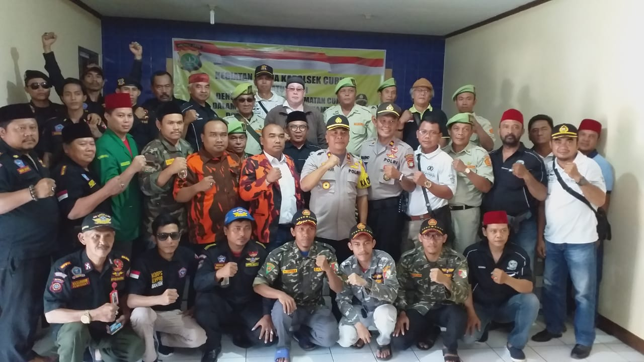 Kompol Endang Sukmawijaya Hadiri  Silaturahmi Antar Ormas