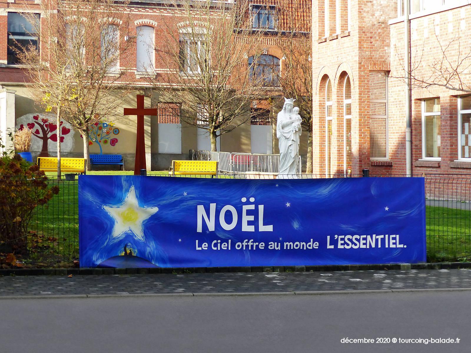 Noël 2020, école CNDI Tourcoing