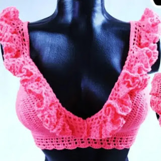 Crop Top a Crochet