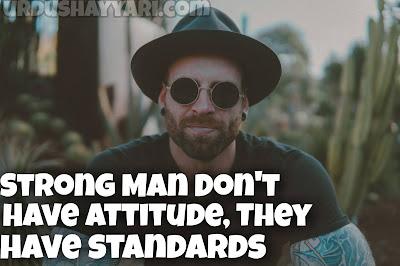 Attitude quotes for men