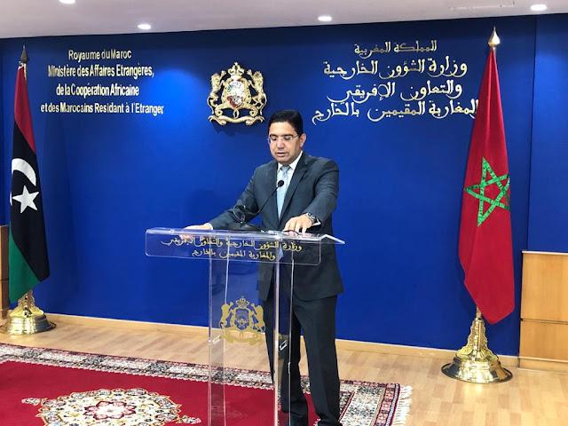 Nasser Bourita- Le Maroc sera toujours aux côtés de la Libye sans aucune ingérence ou agenda