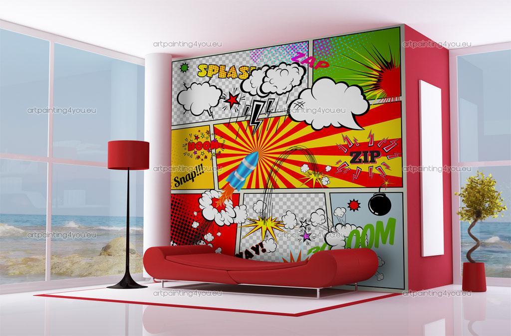 Ibercons arquitectura dise o decoraci n con pop art for Decoracion retro pop