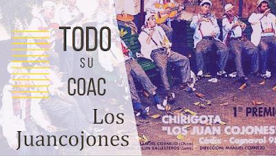 """Los Juancojones"" 🎭TODO su COAC🎭. Chirigota del Love (1998)"