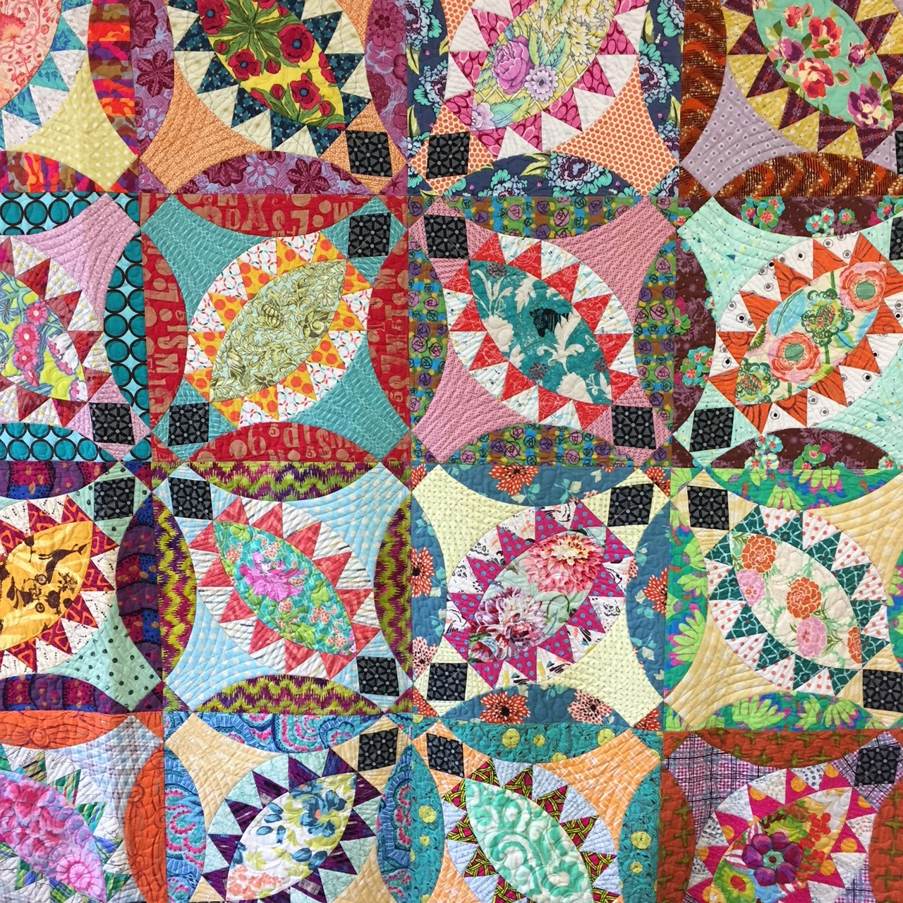 Wendy's quilts and more: Pickled Fish with Chris Jurd at Symposium
