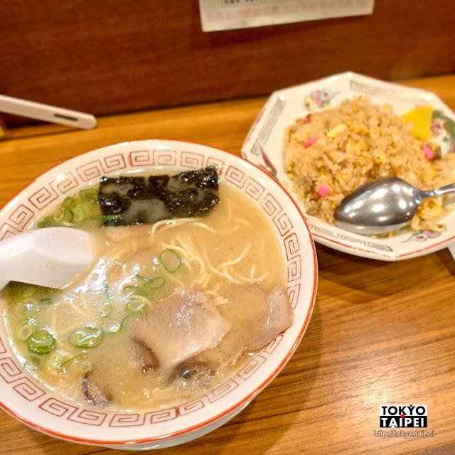 【來福軒】豚骨拉麵起源地 品嘗久留米老店的經典拉麵和炒飯