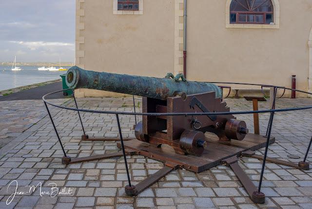 canon de 24 du Soleil Royal - Croisic, avant restauration [état 2012]