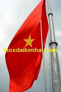 LAN CAN INOX 304 CẦU THANG INOX 304  KÍNH  CÔNG TY XÂY DỰNG ĐẠI KIM HẢI CO.,LTD