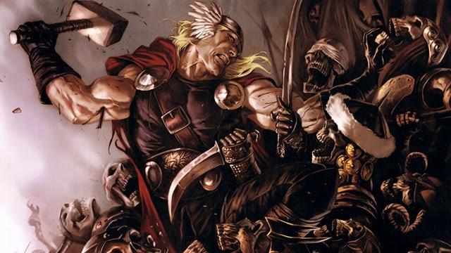 mitologia, asgard, ragnarok, thor, nórdicos