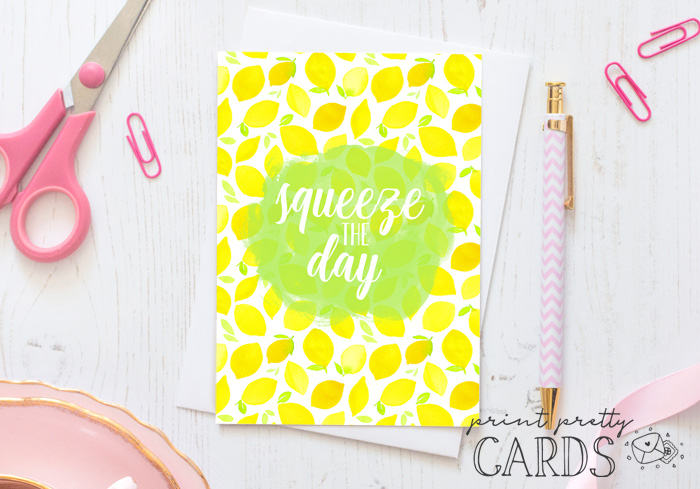 Lemon Greeting Cards