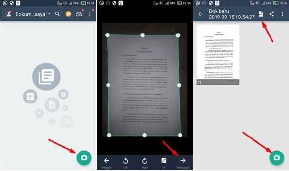 Cara Scan Dokumen Lewat Hp Android Menggunakan Aplikasi Camscanner Gammafis Blog