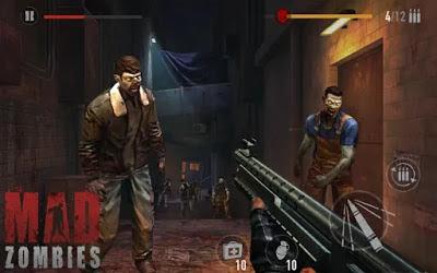 تحميل لعبة الزومبي MAD ZOMBIES : Offline Zombie Games النسخة المهكرة