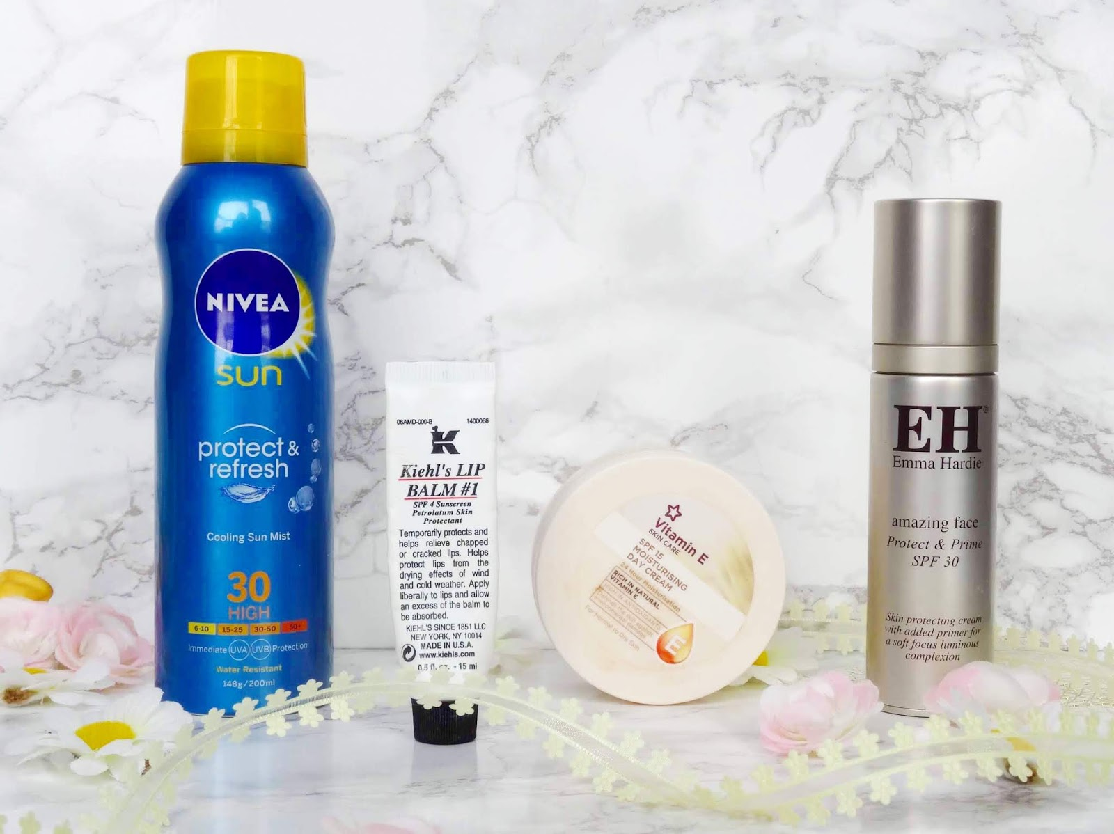 My Favourite Skincare Products Containing SPF