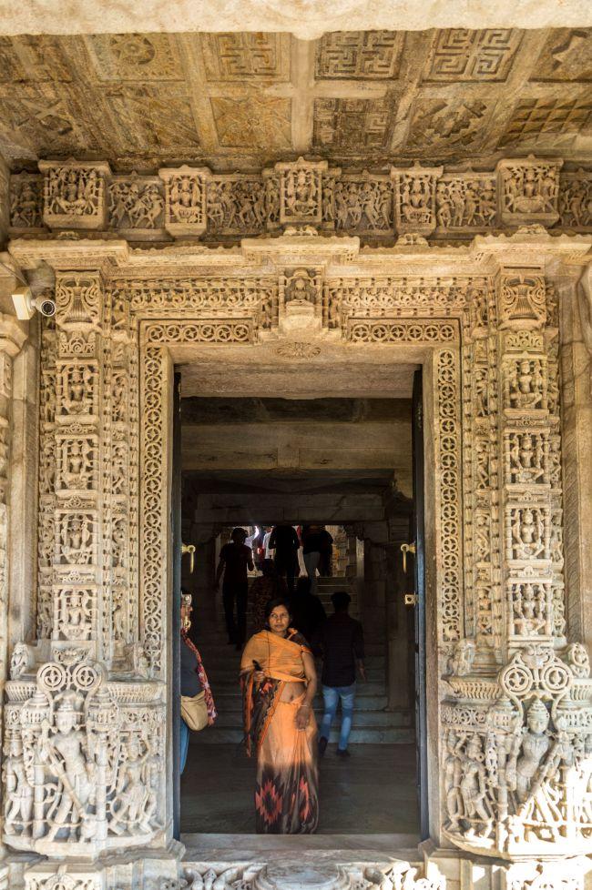 Main Entrance of Ranakpur Jain Mandir