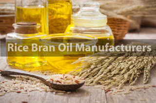 Rice Bran Oil Manufacturers