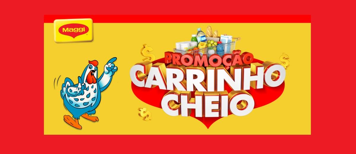 Promoção Maggi Carrinho Cheio 2020 - Ganhe 500 Reais em Compras