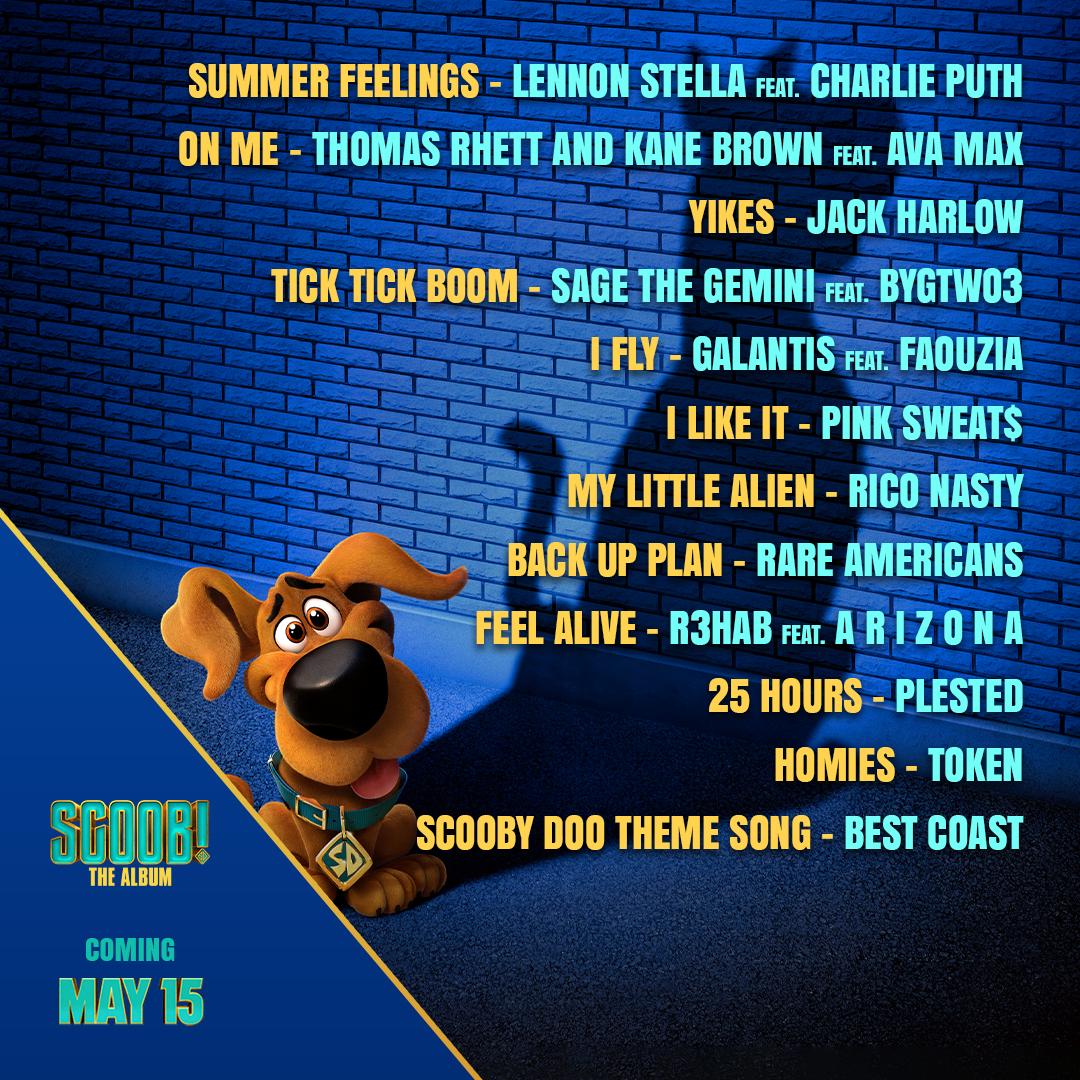 SCOOB! Movie Soundtrack