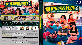 CARATULA NO MANCHES FRIDA 2 - 2019 [COVER BLU RAY]
