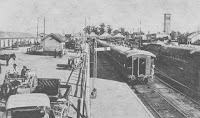 1905 - Andenes de la Estacion Rosario Central del F.C. Argentino