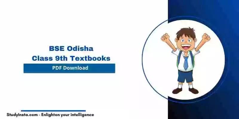 BSE Odisha 9th Class History & Political Science Book PDF