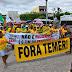 Protesto contra a Reforma da Presidência paralisa o transito e a feira livre de Ipirá