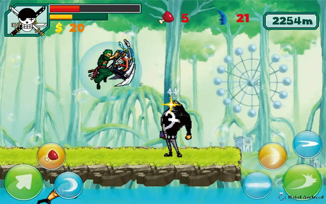 Game Zoro Pirates Shooting Free Android