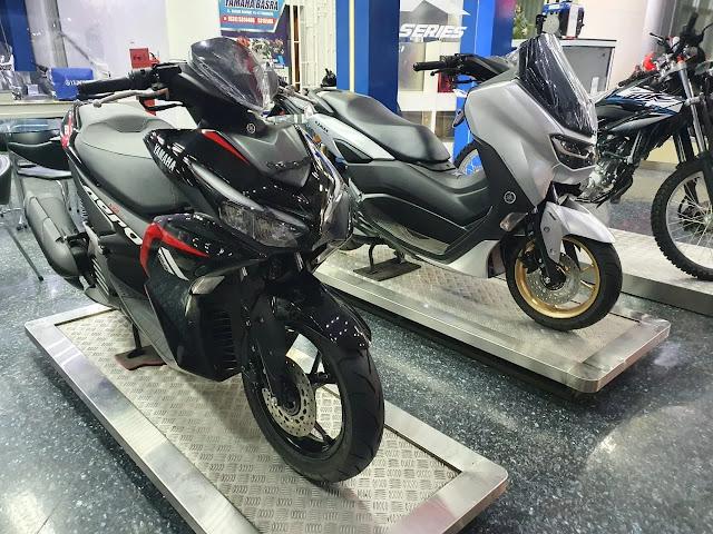 Yamaha NMAX vs Aerox