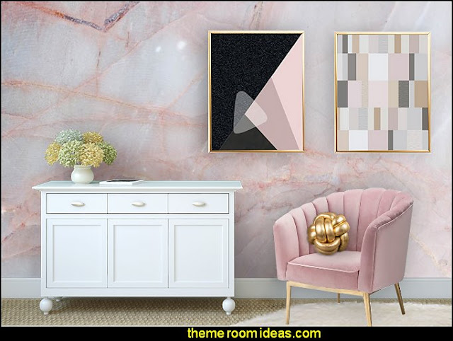 Blush pink decorating - blush pink decor - blush and gold decor ...