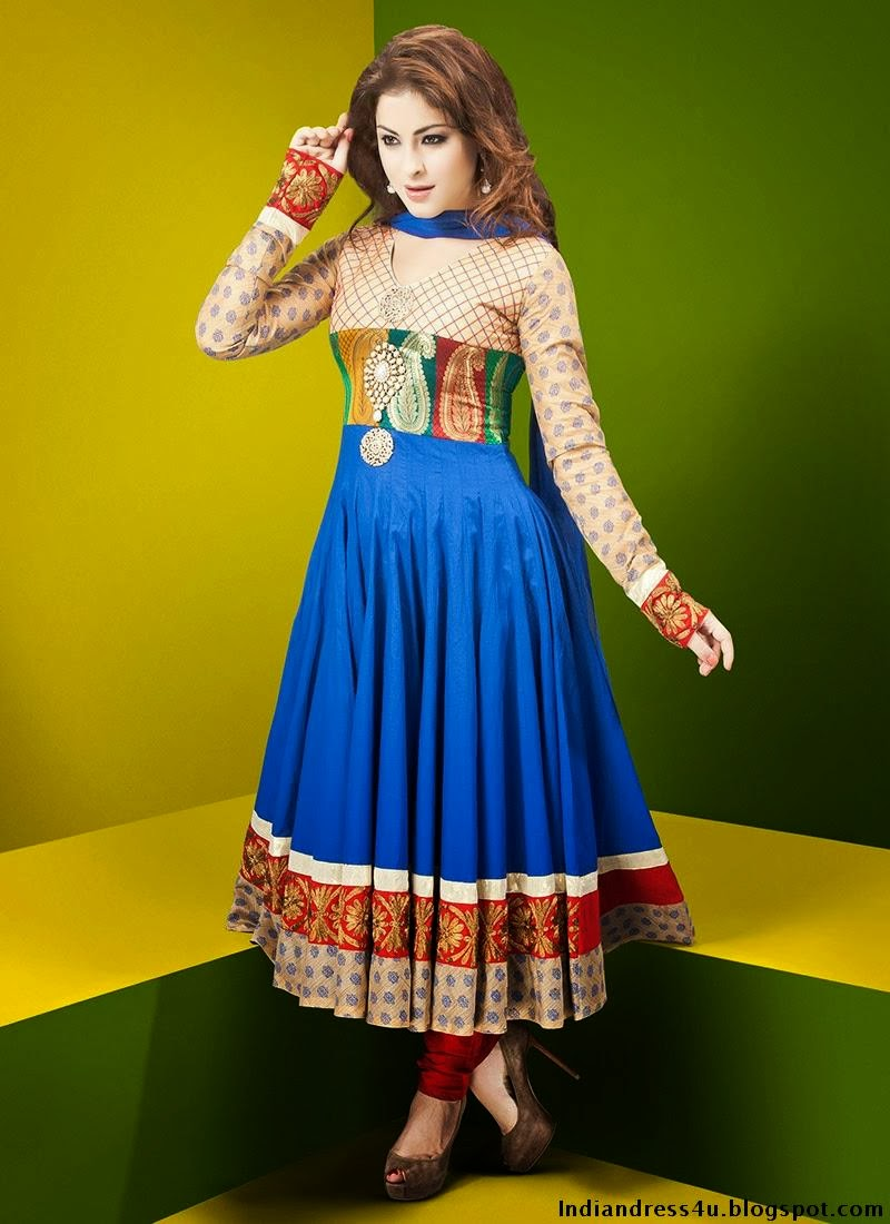 Indian Designer Suits For Women For Wedding 2013-14 ...