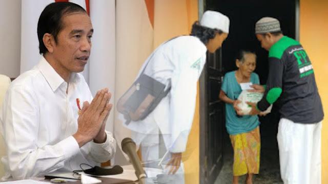 Jokowi: Terima Kasih kepada Ormas Islam Bantu Pemerintah Tangani COVID-19