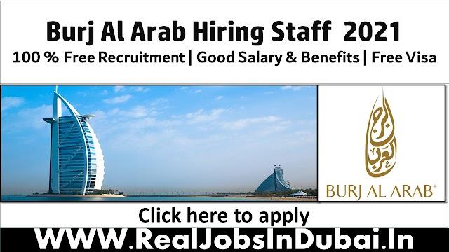 Burj Al Arab Hotel Hiring Staff In Dubai UAE