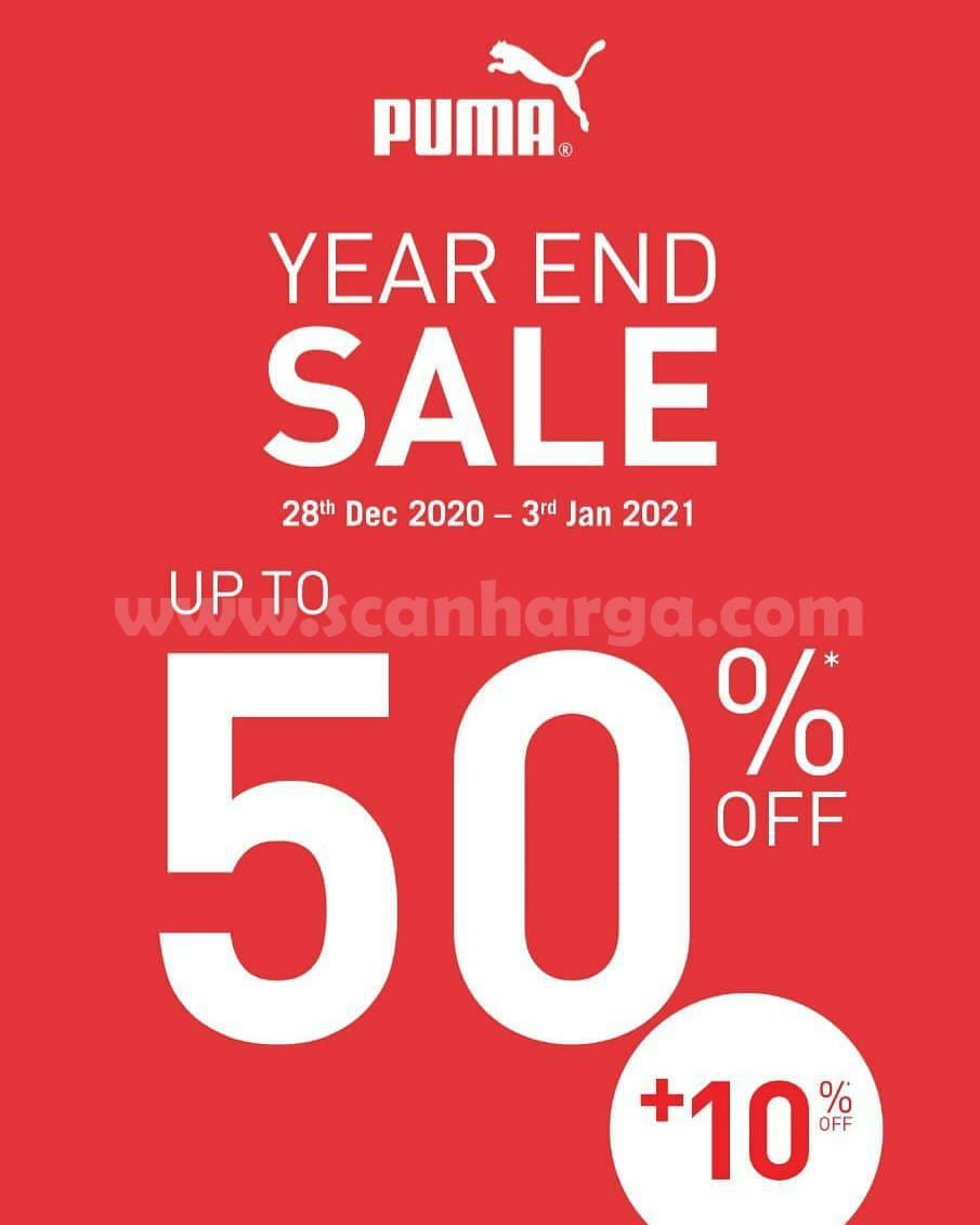PUMA PROMO YEAR END SALE UPTO 50% +10% on selected item