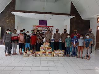 Sambut Hari Bayangkari ke 75, Polres Toraja Utara Anjangsana ke Panti Asuhan Tangmentoe Tagari