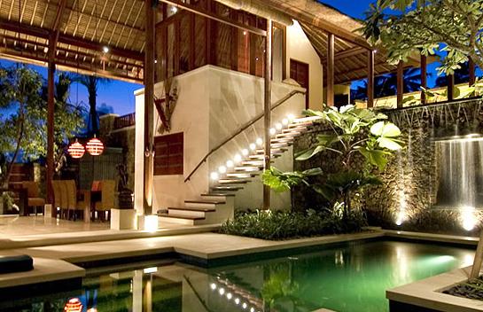 model rumah gaya villa