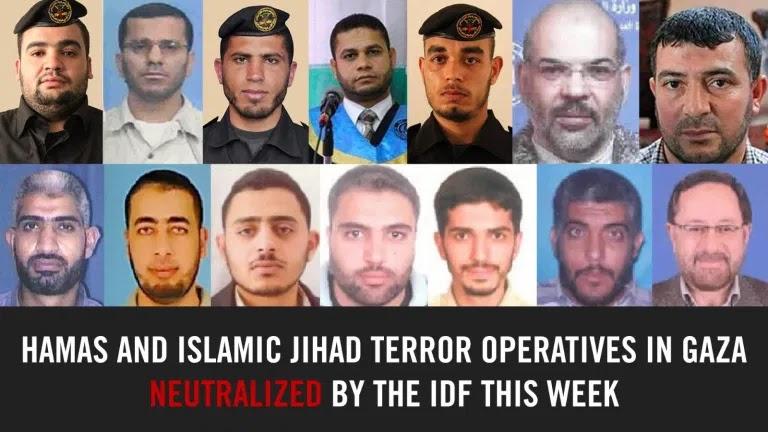 Israel kills 14 Hamas jihadists