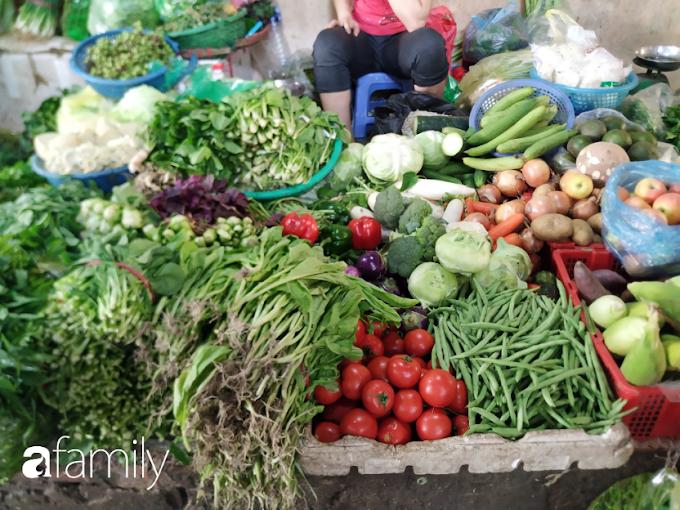 Giá 1kg rau củ quả chợ đầu mối hà nội hôm nay, Cải ngọt, Cải Xanh, Mồng tơi, Rau mống, Xà lách 2021 mới nhất