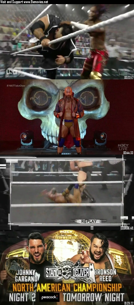 WWE NXT TakeOver Stand & Deliver 2021 HDTV 720p 480p 900MB
