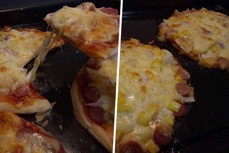 Cara Buat Pizza Homemade Guna Roti Paratha