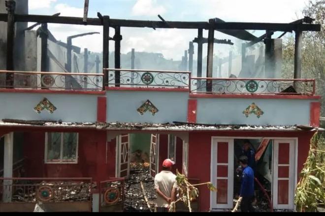 Kebakaran di Bone, Hanguskan Satu Rumah Warga