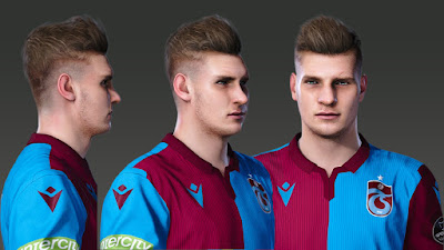PES 2020 Faces Alexander Sørloth by Prince Hamiz