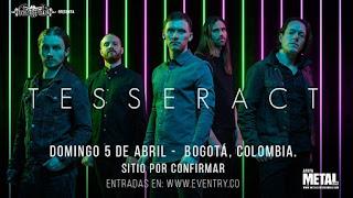 Concierto de TESSERACT en Bogotá