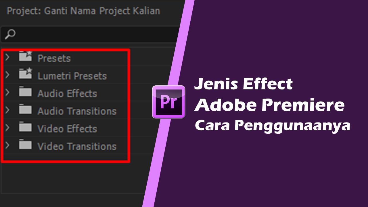 Effects Adobe Premiere Pro