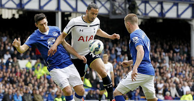 Tottenham gana al Everton 3 a 2