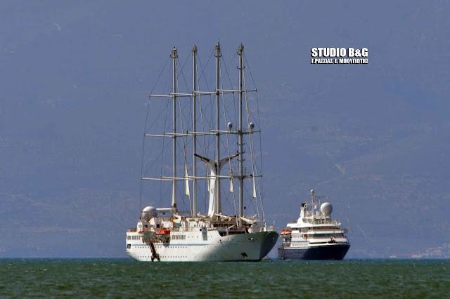 Γέμισε κρουαζιερόπλοια το Ναύπλιο