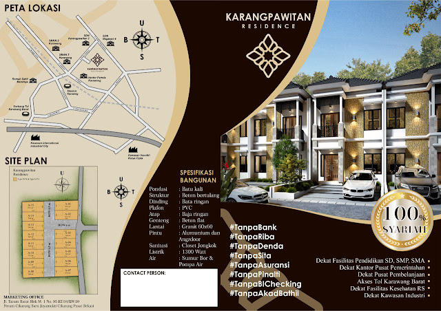 Karangpawitan Residence Rumah Syariah Dekat Kawasan Industri Karawang